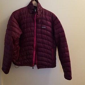 Purple Patagonia down jacket size L